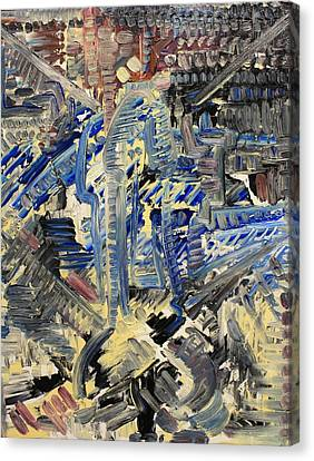 Penetration Canvas Print by Michael Kulick