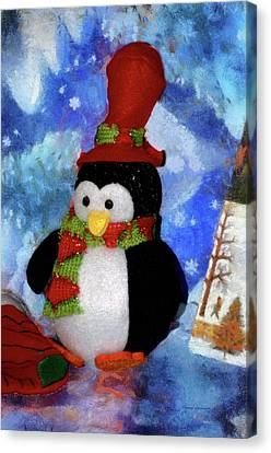 Penguin Pa 02 Canvas Print by Thomas Woolworth