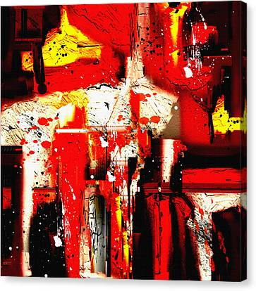 Penman Original-413 Canvas Print by Andrew Penman