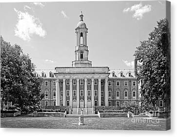 Penn State Canvas Print - Penn State Old Main  by University Icons