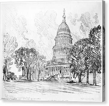 Pennell Capitol, 1912 Canvas Print by Granger