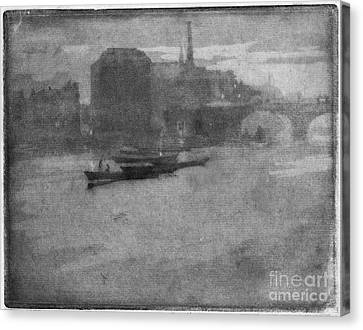 Pennell Thames, 1903 Canvas Print by Granger