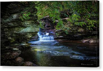 Pennsylvania Stream Canvas Print by Marvin Spates