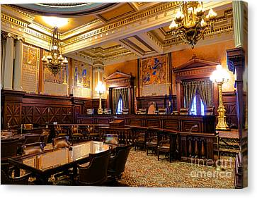 Pennsylvania Supreme Court  Canvas Print by Olivier Le Queinec