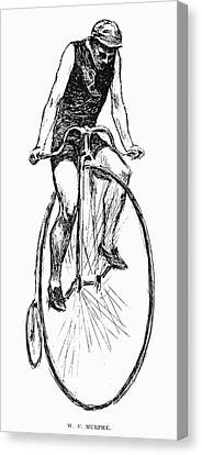 Penny Farthing Bicycle Canvas Print by Granger