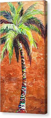 Penny Palm Canvas Print