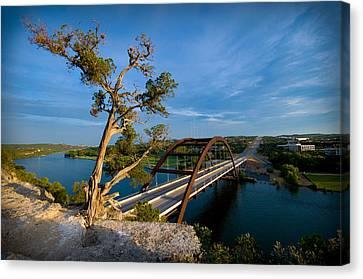 Pennybacker Bridge Canvas Print - Pennybacker Bridge 2 by Sean Wray