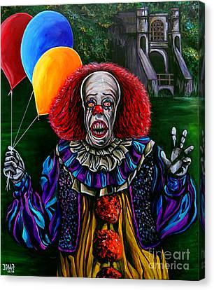 Pennywise It Canvas Print by Jose Mendez