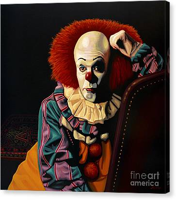 Pennywise Canvas Print by Paul Meijering