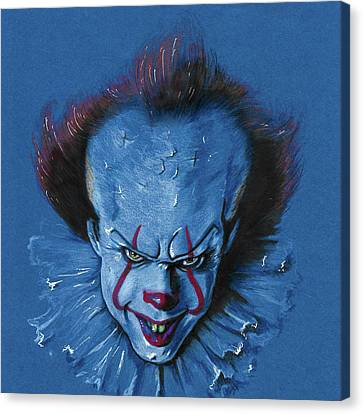Pennywise The Dancing Clown Canvas Print