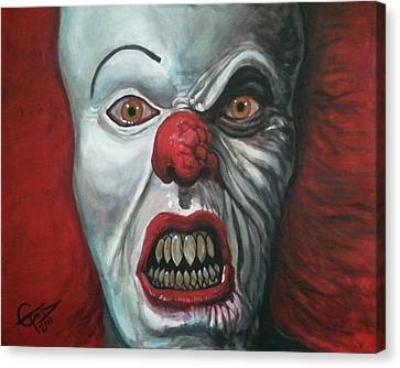 Pennywise Canvas Print by Tom Carlton