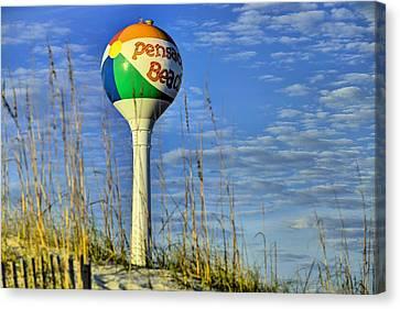 Pensacola Beach Days Canvas Print by JC Findley
