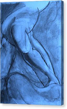 Pentimenti Canvas Print