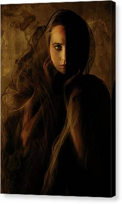 Veils Canvas Print - Penumbra by Cambion Art