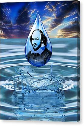 People Changing History William Shakespeare Canvas Print