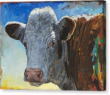People Like Cows #17 Canvas Print by David Palmer