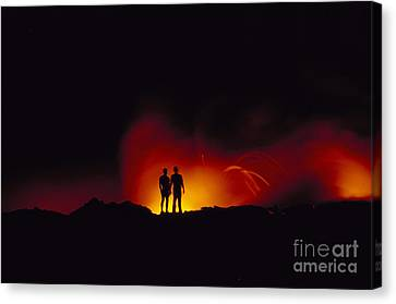 People View Lava Canvas Print by Ron Dahlquist - Printscapes