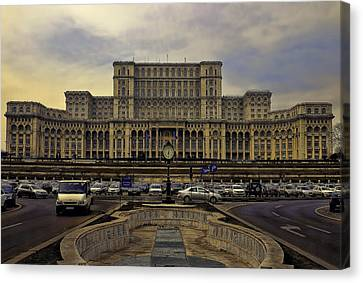 Canvas Print featuring the photograph People's Palace by Rob Tullis