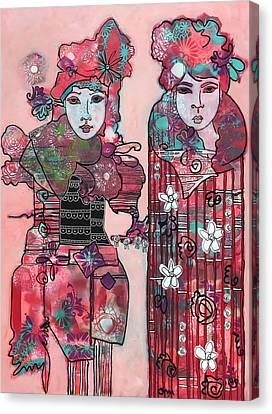 Peppermint Canvas Print