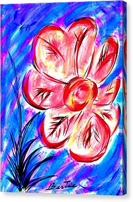 Peppermint Kiss Canvas Print