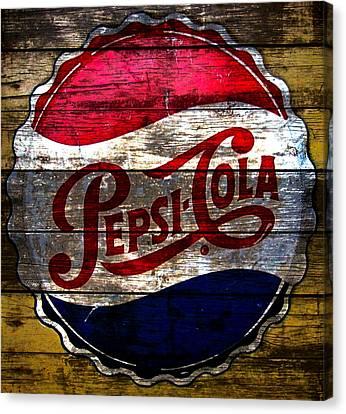 Pepsi Cola  Canvas Print