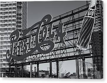 Pepsi-cola Sign II Canvas Print by Clarence Holmes