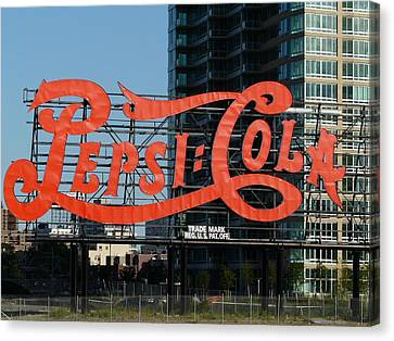 Pepsi-cola Canvas Print