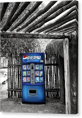 Pepsi Generation Palm Springs Canvas Print by William Dey