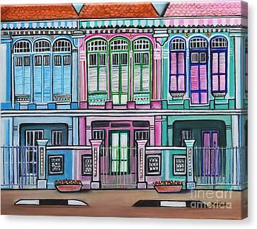 Peranakan Mansion Singapore Canvas Print