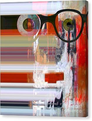 Perception Of Life Experiences Canvas Print by Fania Simon