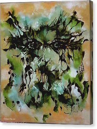 Perceptive Expression Canvas Print