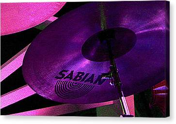 Canvas Print featuring the photograph Percussion by Lori Seaman