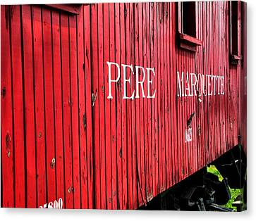 Pere Marquette Canvas Print by Scott Hovind
