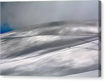 Perennial Glacier Canvas Print by Edoardo Gobattoni