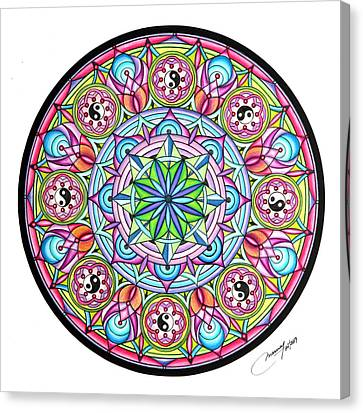 Perfect Balance Canvas Print by Marcia Lupo