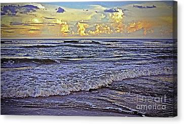 Perfect Beach Evening No.3 Canvas Print by Lydia Holly