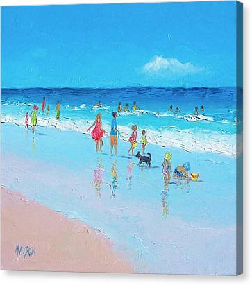 Perfect Days Canvas Print by Jan Matson