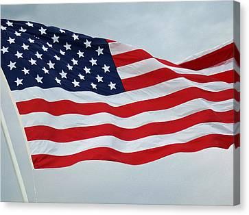 Perfect Flag Canvas Print