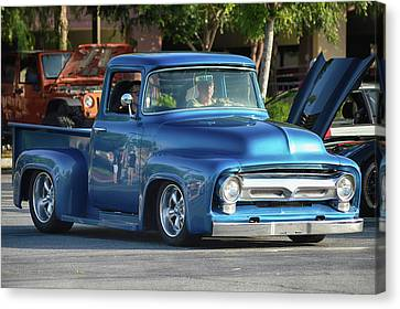 Canvas Print featuring the photograph Perfect Ford Truck by Bill Dutting