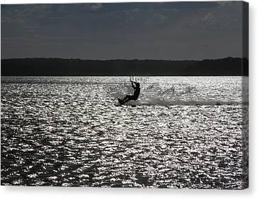 Canvas Print featuring the photograph Perfect Light At Lake Wollumboola by Miroslava Jurcik