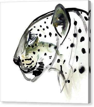 Perfect Profile Canvas Print by Mark Adlington