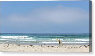 Surf Lifestyle Canvas Print - Perfect Summer by Peter Tellone