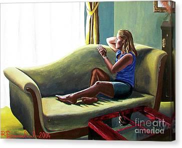 Perfect Waiting - Esperar Perfecto Canvas Print