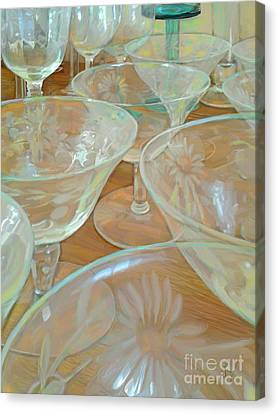 Perfectly Empty Canvas Print by CR Leyland