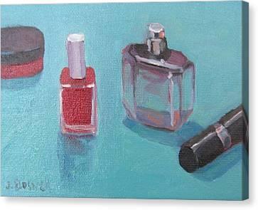 Perfume And Polish #3 Canvas Print