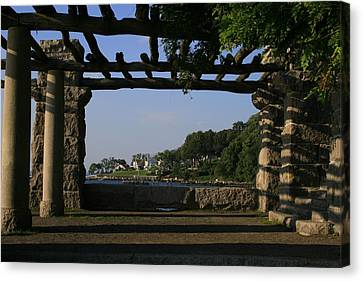 Pergola Canvas Print by Christopher Kirby