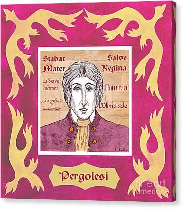 Pergolesi Canvas Print by Paul Helm
