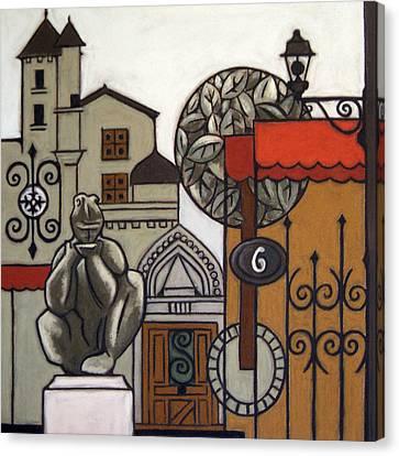 Seem Canvas Print - Perigueux, France by Susan Lishman