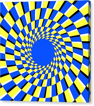 Peripheral Drift Illusion Canvas Print by