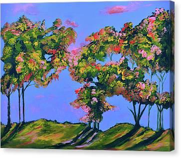 Periwinkle Twilight Canvas Print